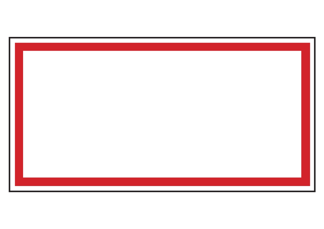 Forster Online-Shop | Verbotsschild (leer) | online kaufen