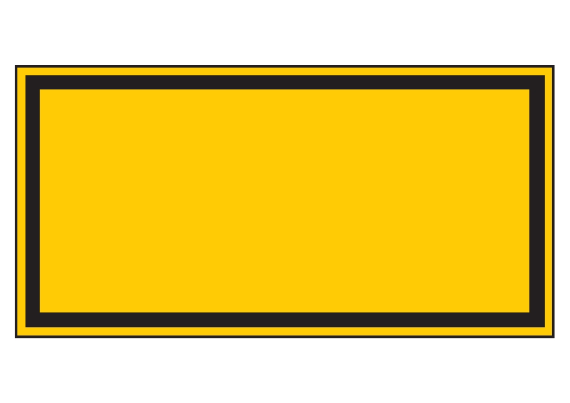 Forster Online-Shop | Warnschild (leer) | online kaufen