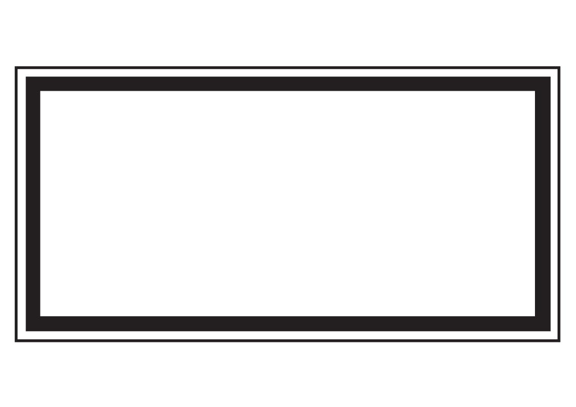 Forster Online-Shop | Hinweisschild mit schwarzem Rand (leer ...